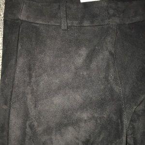 e7059c466b6e58 H&M Pants | H M Black Faux Suede Jeggings New | Poshmark